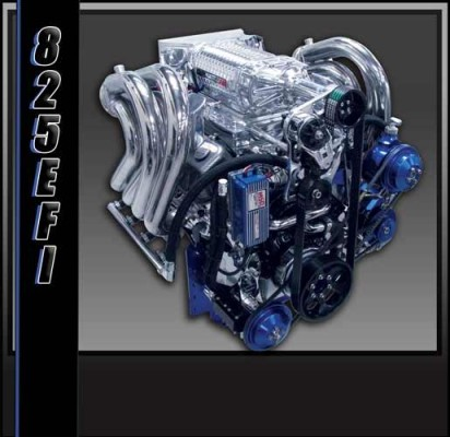 Teague Custom Marine 825 Engine